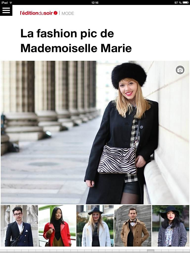 L'EDITION DU SOIR DE OUEST FRANCE (web) 03th/01/2014