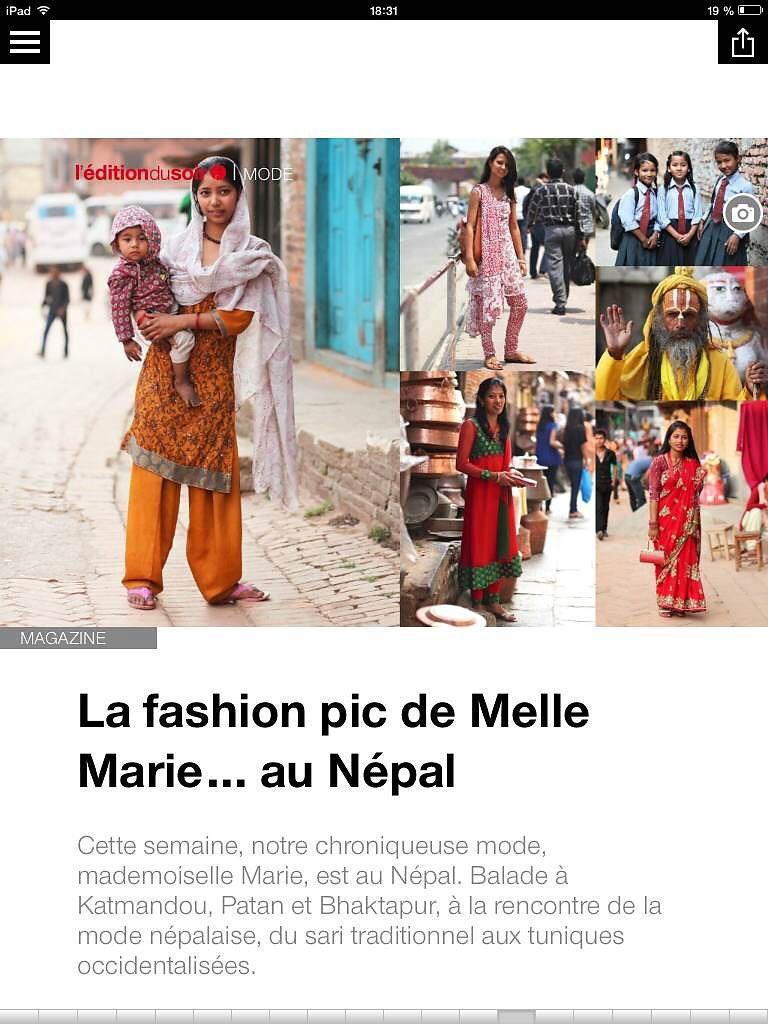 L'EDITION DU SOIR DE OUEST FRANCE (web) 04th/06/2014