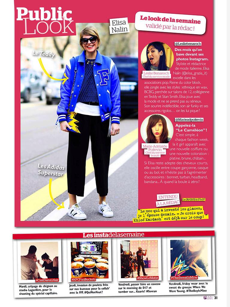 PUBLIC (print) 13th/03/2015: pic of Elisa Nalin