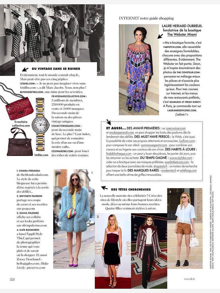 ELLE FRANCE (print) 13th/03/2015