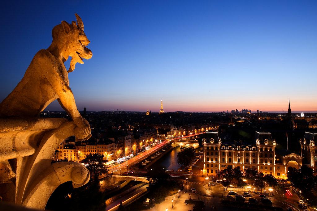 At the Top of Notre-Dame de Paris (Summer 2015)