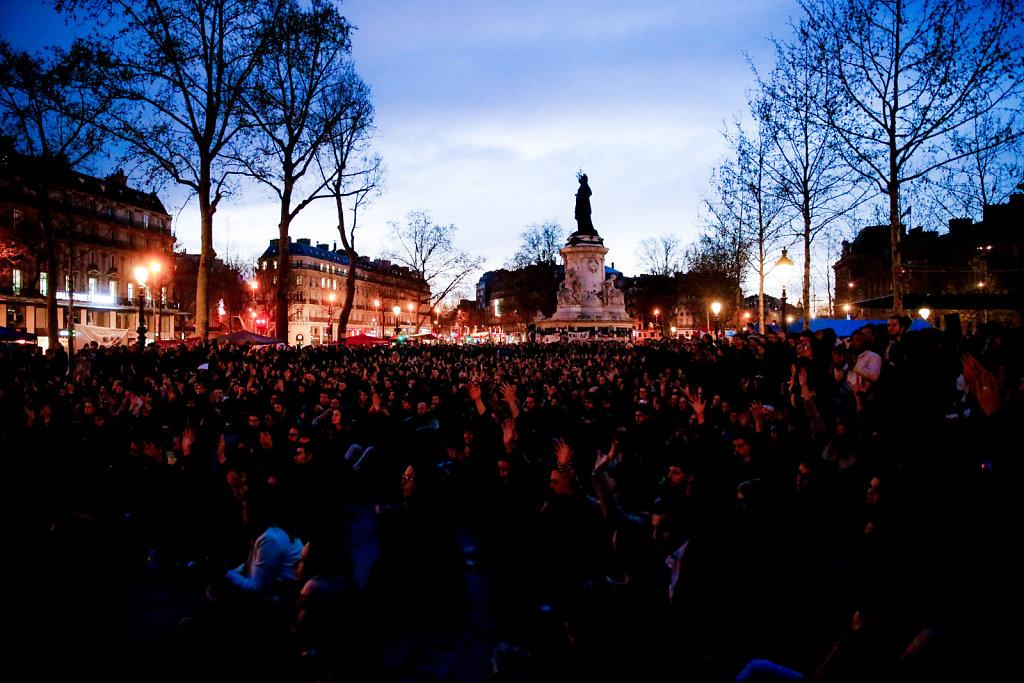 Nuit Debout, April 2016.