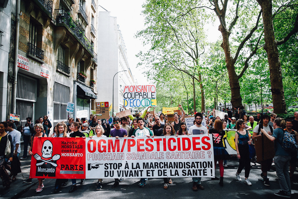 March against Monsanto in Paris  (May 2016)