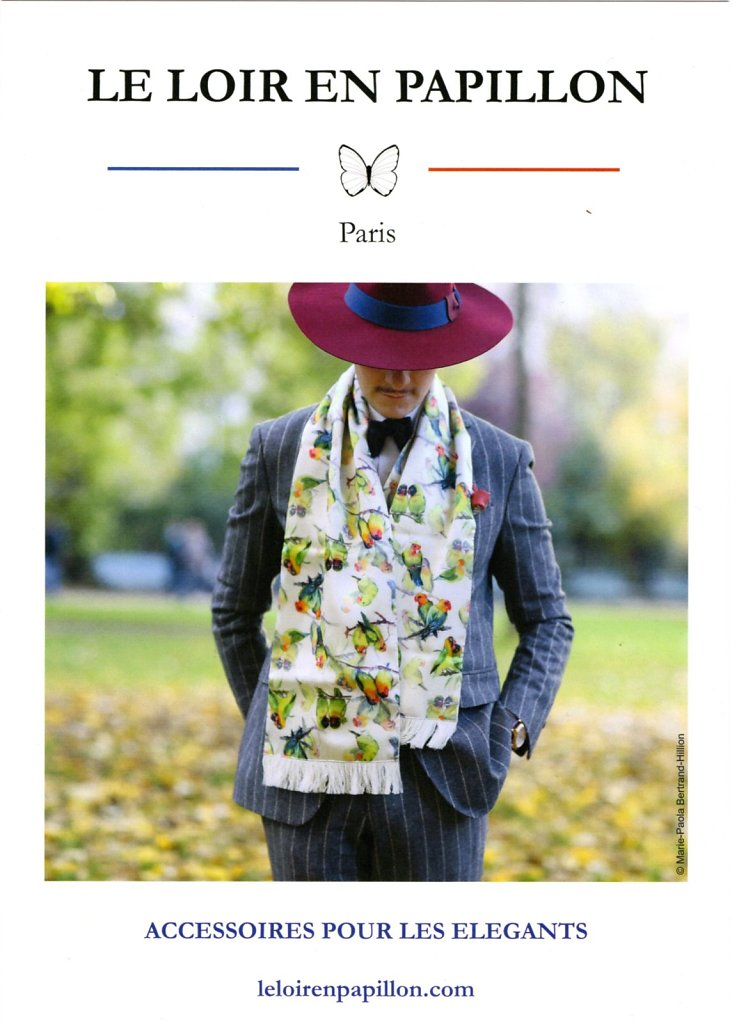 LE LOIR EN PAPILLON (French brand) : Print flyer 2015
