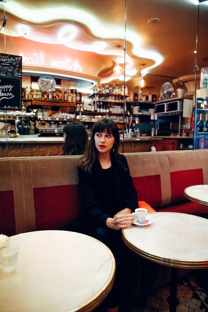 At the Café, Paris (2018)