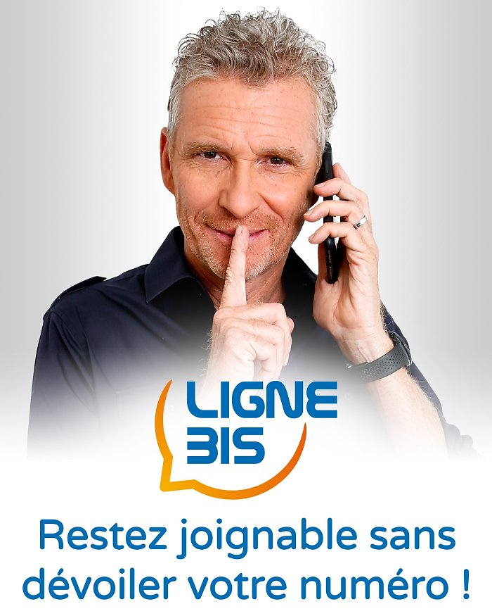 Denis Brogniart  for LIGNE BIS (web) -  January 2019